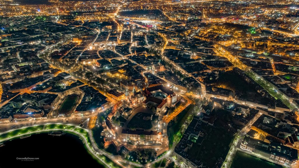 Cracow by Drone